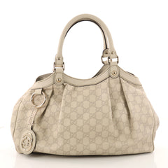 Gucci Sukey Tote Guccissima Leather Medium Neutral 3327304