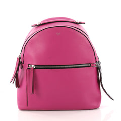 Fendi By The Way Backpack Leather with Crocodile Medium Pink 3327702