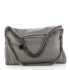 Stella McCartney Falabella Fold Over Bag Shaggy Deer 3332801