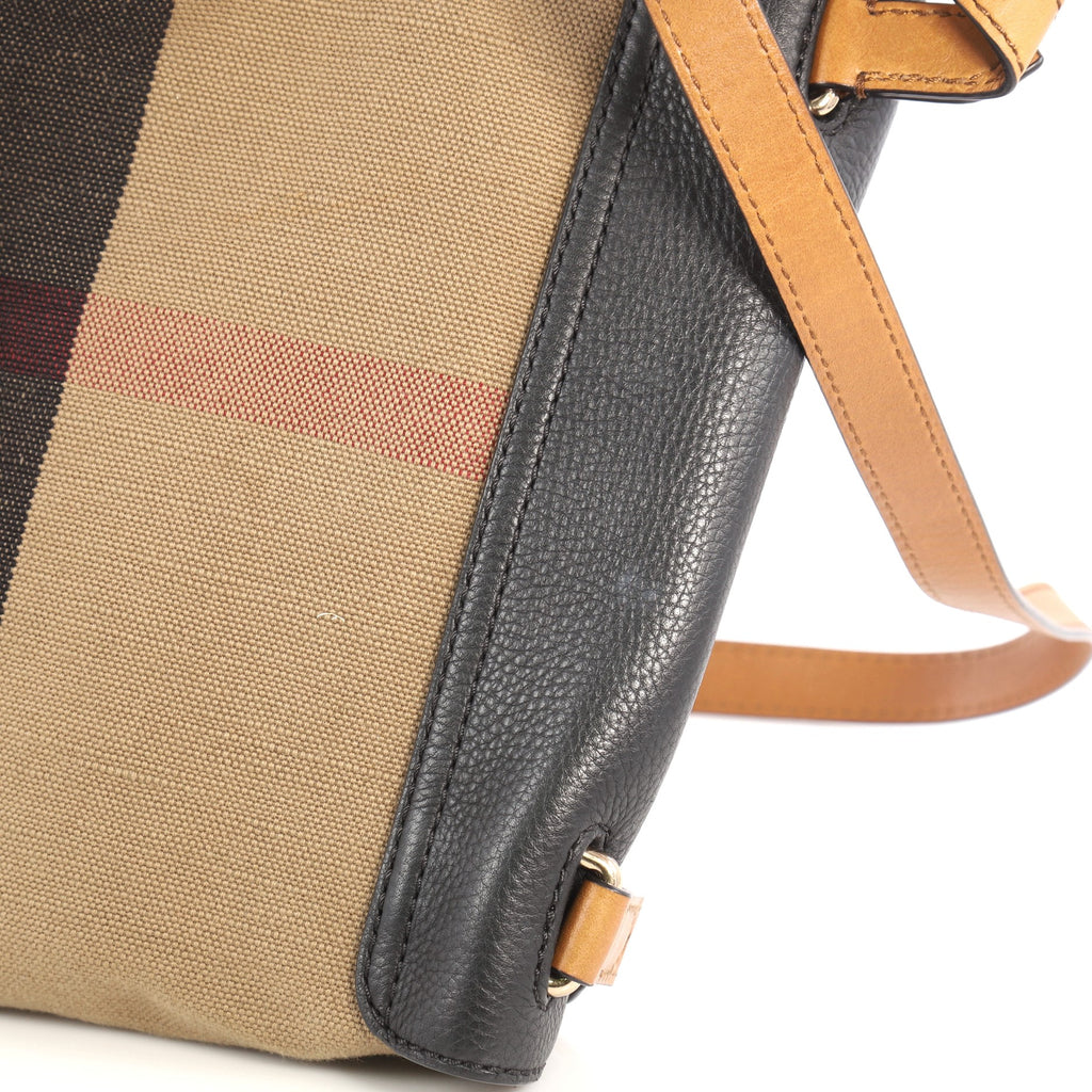 8601eb45dad6 Buy Burberry Shellwood Crossbody Bag House Check Canvas with 3334803 ...
