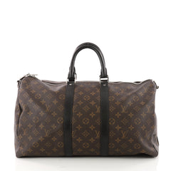 Louis Vuitton Keepall Bandouliere Bag Macassar Monogram 3352702