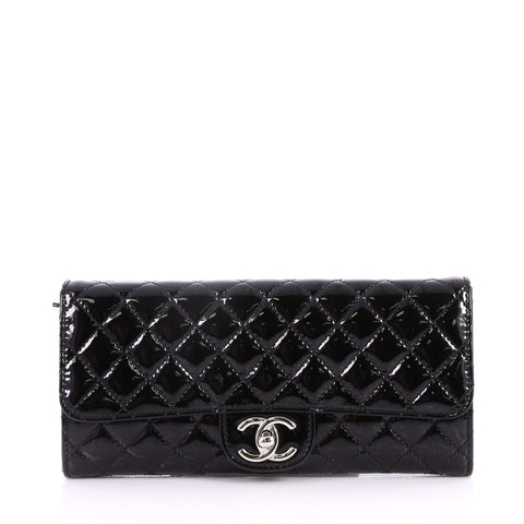 51a5063c63f2 Buy Chanel Wallet On Chain Clutch Quilted Patent East West 3362303 – Rebag