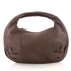Bottega Veneta Belly Hobo Intrecciato Nappa Medium Brown 3364202