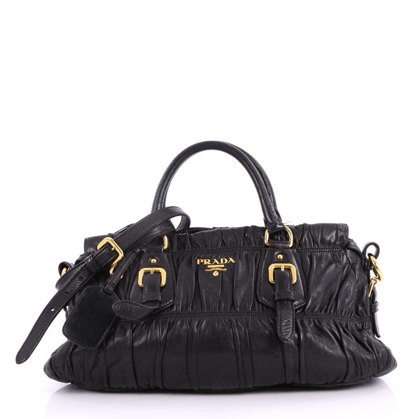b494f6816a1a ... cheap buy prada gaufre convertible satchel nappa leather medium 3378506  rebag b63fb ca24c