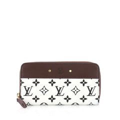 Louis Vuitton Zippy Wallet Monogram Canvas with Leather 3379202