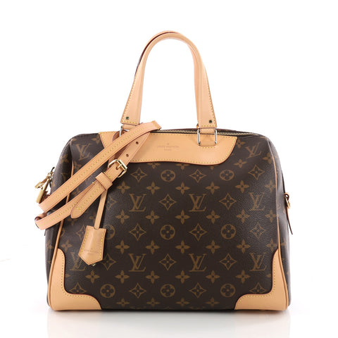 a2252d188ae0 Buy Louis Vuitton Retiro NM Handbag Monogram Canvas Brown 3392902 – Rebag
