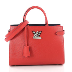 Louis Vuitton Twist Tote Epi Leather Red 3398501
