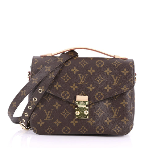 700021195 Buy Louis Vuitton Pochette Metis Monogram Canvas Brown 3398701 – Rebag