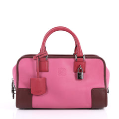 Loewe Amazona Bag Leather 28 Pink 3402501