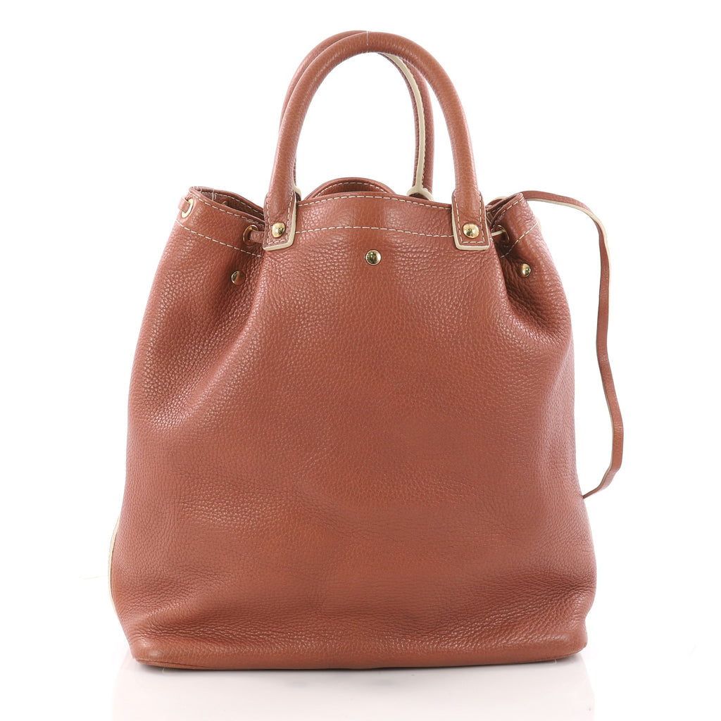 571cc3a37 Buy Louis Vuitton Trunks and Bags Shoe Bag Tobago Leather 3405401 ...