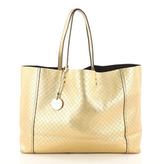 Intrecciomirage Tote Leather Large