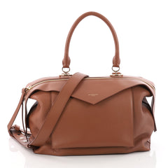 Givenchy Sway Bag Leather Medium Brown 3417601
