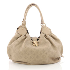 Louis Vuitton L-Hobo Mahina Leather Gray 3430501