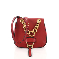 Miu Miu Dahlia Crossbody Bag Leather Small Red 3441603