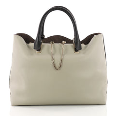 Chloe Baylee Shopper Leather Medium Gray 3442107
