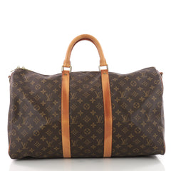 Louis Vuitton Keepall Bandouliere Bag Monogram Canvas 50 3448601
