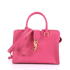 Saint Laurent Monogram Cabas Leather Baby Pink 3459401