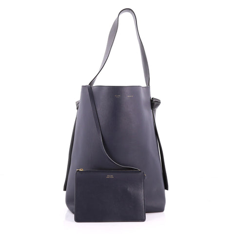 32ae3c3d4797 Buy Celine Twisted Cabas Tote Calfskin Small Blue 3460003 – Rebag