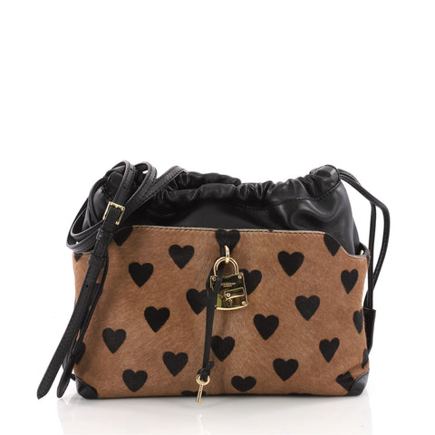 ca0144b90f91 Buy Burberry Little Crush Lock Crossbody Printed Pony Hair 3460302 – Rebag