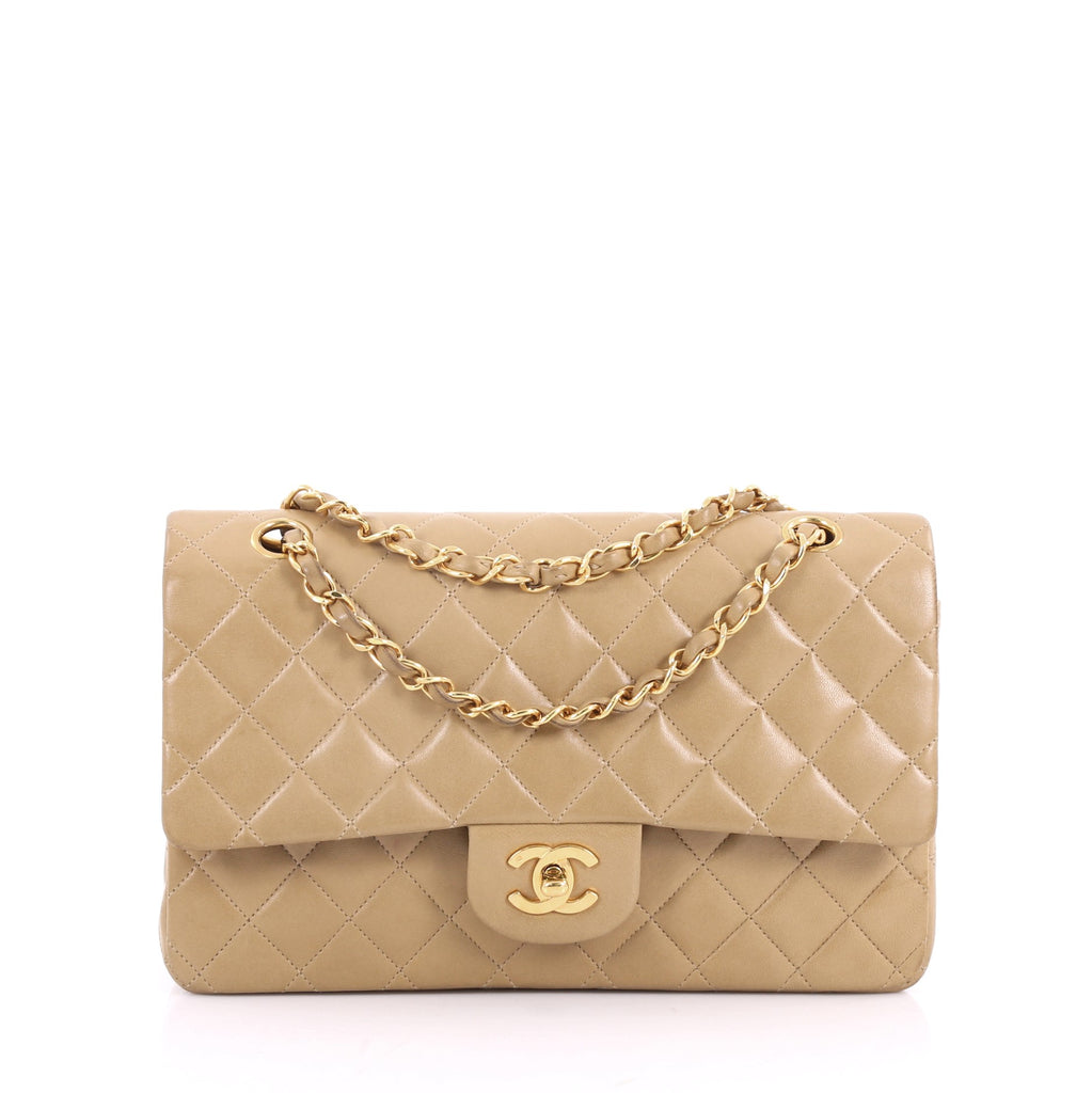 Buy Chanel Vintage Classic Double Flap Bag Quilted Lambskin 3461001 ... 5c2838d752176