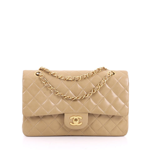 dce01977ff952f Buy Chanel Vintage Classic Double Flap Bag Quilted Lambskin 3461001 – Rebag