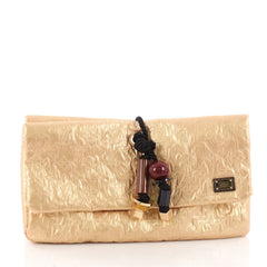 Louis Vuitton Limelight Clutch African Queen Gold 3463302