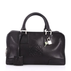 Loewe Amazona Bag Leather 28 Black 3464402