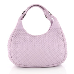 Bottega Veneta Campana Hobo Intrecciato Nappa Small Purple Bottega Veneta Campana Hobo Intrecciato Nappa Small Purple 3464502