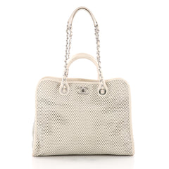 Chanel Up In The Air Convertible Tote Perforated Leather 3477003