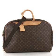 Louis Vuitton Alize Bag Monogram Canvas 2 Poches Brown 3479102