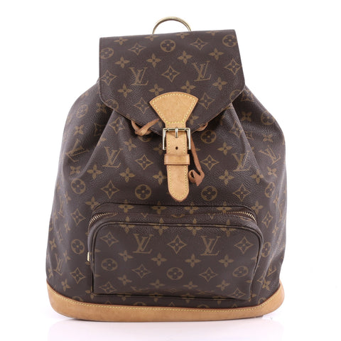 765d09a57909 Buy Louis Vuitton Montsouris Backpack Monogram Canvas GM 3481301 – Rebag