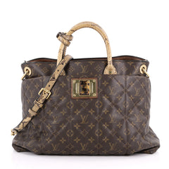 Louis Vuitton Limited Edition Exotique Handbag Monogram Brown 3487602