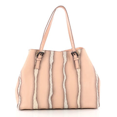 Bottega Veneta A-Shape Glimmer Tote Washed Nappa Leather 3490101