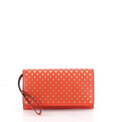 Christian Louboutin Macaron Wristlet Studded Leather 3490204