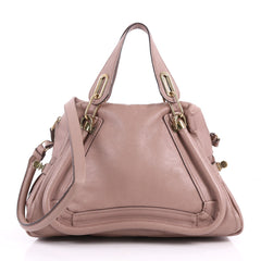 Chloe Paraty Top Handle Bag Leather Medium Pink 3493002