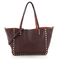 Valentino Rockstud Reversible Convertible Tote Leather 3502303