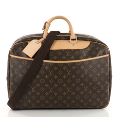 Louis Vuitton Alize Bag Monogram Canvas 2 Poches Brown 3518502