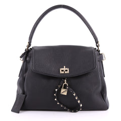 Valentino Twiny Convertible Top Handle Bag Leather 3523923