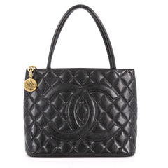 Chanel Medallion Tote Quilted Caviar 3530502
