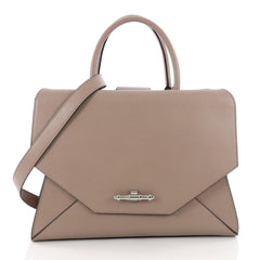 Givenchy Obsedia Satchel Leather Medium Brown 3544401
