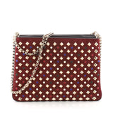 Christian Louboutin Triloubi Chain Bag Spiked Leather 3547603