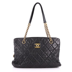 CC Crown Tote Quilted Leather Medium