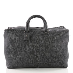 Bottega Veneta Brick Bag Leather with Intrecciato Detail Large 3548710
