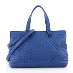 Bottega Veneta 2-Pocket Convertible Tote Intrecciato 3550101