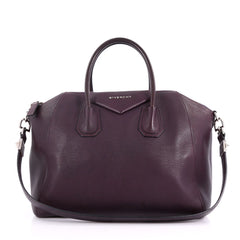 Givenchy Antigona Bag Leather Medium Purple 3550903