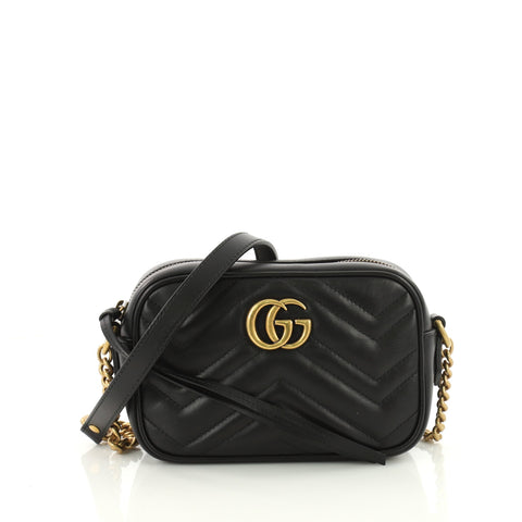 7c271e74b54 Buy Gucci GG Marmont Shoulder Bag Matelasse Leather Mini 3551801 – Rebag