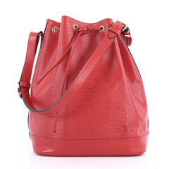 Louis Vuitton Noe Handbag Epi Leather Large Red 3557102