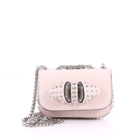 1d06bd50483 Sweet Charity Crossbody Bag Spiked Leather Baby