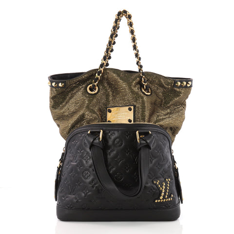 ffc31cb53bd0 Buy Louis Vuitton Double Jeu Neo Alma Handbag Limited 3563012 – Rebag