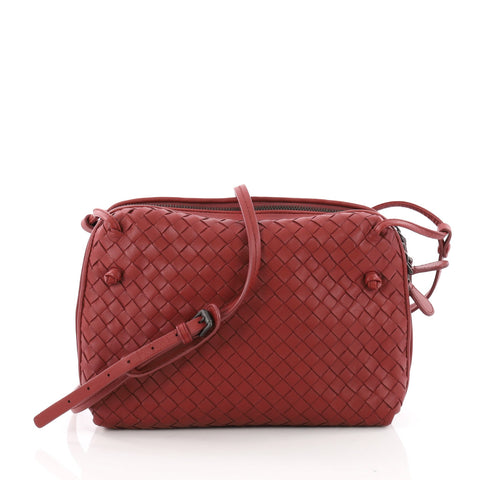 Bottega Veneta Double Compartment Pillow Crossbody Bag Intrecciato Nappa  Medium – Rebag 845e8f95e5cd4
